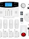 433MHz SMS Telefon 433MHz GSM TELEFON telefon~~POS=TRUNC Alarm SMS larm Sound Alarm Lokalt Alarm E-mailalarm Home Alarm Systems