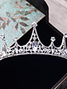 Alloy Tiaras with Rhinestone Crystal 1pc Wedding Party / Evening Headpiece