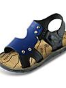 Băieți Pantofi PU Vară Confortabili Sandale pentru Maro / Albastru