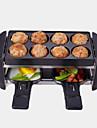 Elektrisk grill Multifunktion Aluminium-magnesiumlegering termiska Spisar 220V Köksmaskin