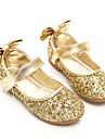 Fete Pantofi Paillertte Primăvară / Toamnă Balerină / Pantofi Fata cu Flori Pantofi Flați Funde / Paiete / Bandă Magică pentru Auriu /