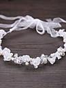 Aliaj Piatră Semiprețioasă Cristal Imitație de Perle Metalic 1 buc Nuntă Ocazie specială Diadema