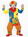 Burlesk/CLågn Cirkus Cosplay Kostymer/Dräkter Festklädsel Vuxna Karnival Festival / högtid Halloweenkostymer Regnbåge Färgblock Rolig &