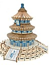 3D Puzzle Wooden Puzzle Architecture Fashion Chinese Architecture Temple of Heaven Classic Fashion New Design Professional Level Focus