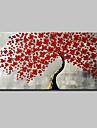 Dipinta a mano 3D Floreale/Botanical Orizzontale, Modern Hang-Dipinto ad olio Decorazioni per la casa Un Pannello