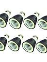 8pcs 7W 550lm E14 E26 / E27 LED-spotlights 1 LED-pärlor COB Dekorativ Varmvit Kallvit 220-240V