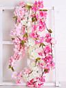 Kunstbloemen 1 Tak Bruiloft Europees Sakura Bloemen voor op de muur