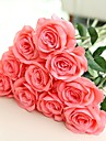Konstgjorda blommor 2 Gren Europeisk Stil / Pastoral Stil Roser Bordsblomma