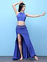 رقص شرقي أزياء للمرأة التدريب مودال منفصل بدون كم ارتفاع منخفض تنانير / بلايز