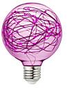 BRELONG® 1 buc 3W 300 lm E26/E27 Bulb LED Glob 95 led-uri SMD Decorativ RGB Roz Galben 220V-240V