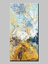 Hang-pictate pictură în ulei Pictat manual - Abstract Artă Pop Modern pânză