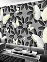 Konst Dekor Mönster 3D Hem-dekoration Vintage Moderna Tapetsering, Duk Material lim behövs Väggmålning, Tapet