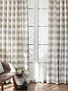 gardiner draperier Vardagsrum Modernt Bomull / Polyester Tryckt