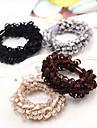 Lastik & Kravatlar Saç aksesuarları Bağlanmış Saten ABS reçine peruk Aksesuarları Kadın\'s 10pcs adet 1-4inç santimetre Günlük Butik Şık
