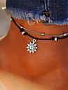 În Straturi Brățară Gleznă - Soare Vintage, Boem, Tropical Argintiu Pentru Cadou / Bikini