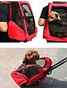 Câini Pisici Portbagaje & rucsacuri de călătorie Animale de Companie  Genţi Transport Portabil Respirabil Călătorie Mată Mov Rosu Verde