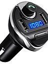 T20 Bluetooth 3.0 Kit audio bluetooth Trasmettitori FM Universale