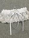 Șifon Satinat / Dantelă Stil Vintage Nunta Garter  -  Piatră Semiprețioasă / Șifonat Jartiere Nuntă / Party & Seară