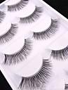 Oog 1 Naturel Gekruld Dagelijkse make-up Volledige strook wimpers Make-up Professioneel Hoge kwaliteit Draagbaar Professioneel Dagelijks