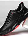 Bărbați Pantofi Piele Primăvară Confortabili Adidași Negru