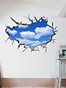 Autocolante de Perete Decorative - 3D Acțibilduri de Perete Peisaj #D Sufragerie Dormitor Baie Bucătărie Cameră de studiu / Birou