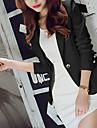 女性用 ワーク ブレザー - ベーシック / ストリートファッション ソリッド