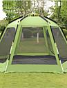 Shamocamel® 7 Personen Kuppelzelt mit Netz Firstzelt mit Netz Außen Windundurchlässig Regendicht Doppellagig Automatisch Dom Camping Zelt >3000 mm für Camping / Wandern / Erkundungen Terylen