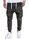 Bărbați Mărime Plus Size Bumbac Zvelt Pantaloni Chinos Pantaloni camuflaj