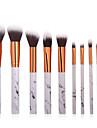 10\'lu Paket Makyaj fırçaları Profesyonel Allık Fırçası / Eyeliner Fırçası / Pudra Fırçası Naylon fiber Tam Kaplama / sentetik Plastik