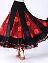Fuer den Ballsaal Unten Damen Leistung Tuell Verstreute Perlen mit Blumen / Horizontal geruescht / Kombination Normal Roecke