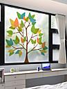 Fereastră de film și autocolante Decor mată / Contemporan 3D Print PVC Autocolant Geam / Mat