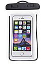 حقيبة الهاتف الخليوي حقيبة الهاتف المحمول إلى iPhone X iPhone XS مكتشف الأمطار مكافح الانزلاق سوستة مقاومة للماء 6.5 بوصة PVC 5 m