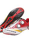 SIDEBIKE Homme Chaussures de Velo de Route Fibre de Carbone Cyclisme / Velo Coussin Polyurethane Rouge / Blanc