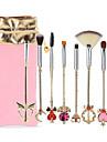 Professionel Make-up pensler Brush Sets 8stk -ko Venlig Blød Aluminium Legering 7005 til
