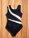 رقص الباليه ملابس ضيقة للرقص فتيات أداء سباندكس مفصل منفصل بدون كم / قمصان الرضعثوب الراقص