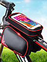 Cell Phone Bag / Bike Handlebar Bag 6.2 inch Touch Screen, Reflective, Waterproof Cycling for Cycling / iPhone X / iPhone XR Green