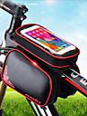 Sac de telephone portable / Sacoche de Guidon de Velo 6.2 pouce Ecran tactile, Reflechissant, Etanche Cyclisme pour Cyclisme / iPhone X / iPhone XR Vert / iPhone XS / iPhone XS Max