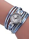 Pentru femei Ceas Brățară Quartz Wrap Negru / Alb / Albastru Model nou Ceas Casual imitație de diamant Analog femei Casual Modă - Mov Verde Albastru Un an Durată de Viaţă Baterie