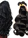6 Buendel Peruanisches Haar Wellen 8A Echthaar Menschenhaar spinnt Bundle Haar One-Pack-Loesung 8-28 Zoll Naturfarbe Menschliches Haar Webarten Beste Qualitaet Fuer Damen dunkler Hautfarbe