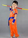 Inspirado por Bola de Dragon Son Goku Anime Disfraces de cosplay Trajes Cosplay Palabra / Frase Manga Corta Top / Pantalones / Cinturon Para Chico