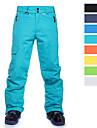 Homme Pantalons de Ski Etanche Coupe Vent Chaud Ski Snowboard Coton Polyster Bas Tenue de Ski