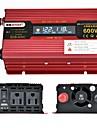 XUYUAN Μοτοσυκλέτα / Αυτοκίνητο Μετατροπέας ισχύος DC 12V-AC 110V 100-110 V 600 W Για Universal / Μοτοσικλέτες