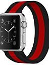 Paslanmaz Çelik Watch Band kayış için Apple Watch Series 3 / 2 / 1 Siyah 23cm / 9 inç 2.1cm / 0.83 İnç