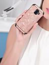 BENTOBEN Capinha Para Samsung Galaxy J6 Antichoque / Galvanizado / Glitter Brilhante Capa traseira Solido / Glitter Brilhante Rigida PU Leather / TPU / PC para J6 (2018)