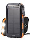 TS-886 מקור אנרגיה LED Emitters עמיד במים נייד מחנאות / צעידות / טיולי מערות ציד דיג שחור / כתום