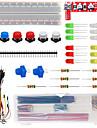nøgler til komponent kit 501c til arduino elektroniske hobbyister
