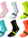 Jersey Compression Socks Sport Socks / Athletic Socks Cycling Socks Cycling / Bike Bike / Cycling Breathable Cycling Quick Dry 6pcs Fashion Nylon One-Size / Stretchy