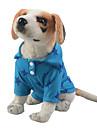 애완견 용품 / 고양이 용품 티셔츠 강아지 의류 별 옐로우 / 레드 / 블루 폴리에스테르 / 면 혼합 코스츔 애완 동물 남성용 레져