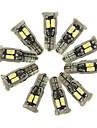 SENCART 10pcs T10 Mașină Becuri 5 W SMD 5630 800 lm 10 LED Lumini de interior Pentru Motoare generale Toți Anii