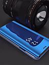 Capinha Para Samsung Galaxy S9 Plus / S8 Plus Com Suporte / Galvanizado / Espelho Capa traseira Solido Rigida Acrilico para S9 / S9 Plus / S8 Plus